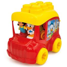Clemmy - autobuz mickey cu cuburi - Clementoni