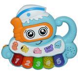 Orga de jucarie cu sunete si lumini pentru copii sub forma de Caracatita , Octopus Piano Nebunici
