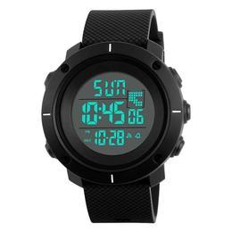 Ceas Barbatesc SKMEI CS876, curea silicon, digital watch, functie cronometru, alarma