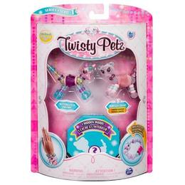 Set Twisty Petz Spin Master - Pachet 3 figurine Butterscotch Unicorn transformabile in bratari