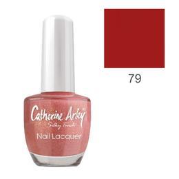 Lac de Unghii Alfar Catherine Arley Silky Touch, nuanta 79 Red Love, 14ml de la esteto.ro