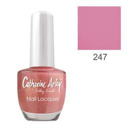 Lac de Unghii Alfar Catherine Arley Silky Touch, nuanta 247 Hot Pink, 14ml de la esteto.ro