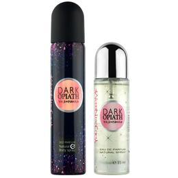 Set Cadou Lucky Dark Opiath pentru Femei - Apa de Parfum 35ml + Parfum Deodorant 85ml