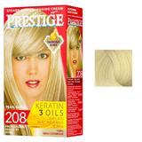 Vopsea pentru Par Rosa Impex Prestige, nuanta 208 Pearl Blonde