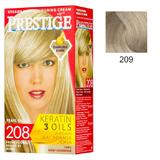 Vopsea pentru Par Rosa Impex Prestige, nuanta 209 Light Ash Blonde