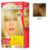 Vopsea pentru Par Rosa Impex Prestige, nuanta 213 Hazelnut Blonde