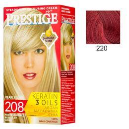 Vopsea pentru Par Rosa Impex Prestige, nuanta 220 Ruby Red de la esteto.ro