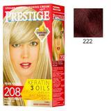 Vopsea pentru Par Rosa Impex Prestige, nuanta 222 Mahogany Coraly