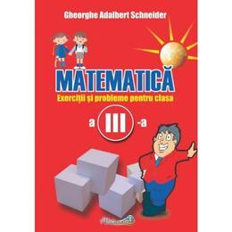 Matematica - Clasa 3 - Exercitii si probleme - Gheorghe Adalbert Schneider, editura Hyperion