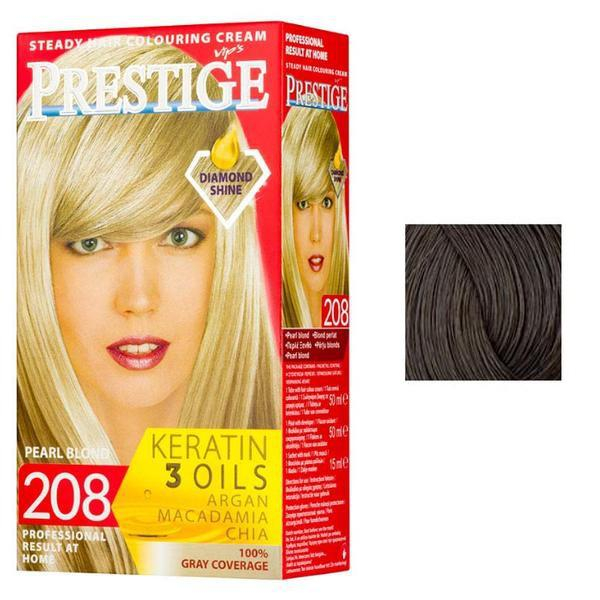 Vopsea pentru Par Rosa Impex Prestige, nuanta 236 Brown Nougat esteto.ro