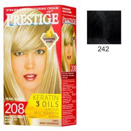 Vopsea pentru Par Rosa Impex Prestige, nuanta 242 Black de la esteto.ro