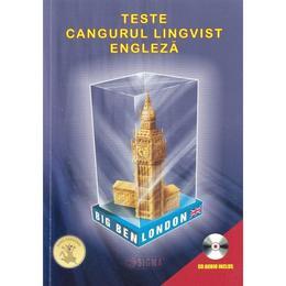 Teste Cangurul Lingvist Engleza +CD, editura Sigma