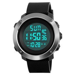 Ceas Barbatesc SKMEI CS879, curea silicon, digital watch, functie cronometru, alarma