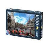 Puzzle 1000 locuri celebre - brussels. belgium (64288-01)