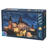 Puzzle 1000 romania - hunedoara. corvin castle (63038-13)