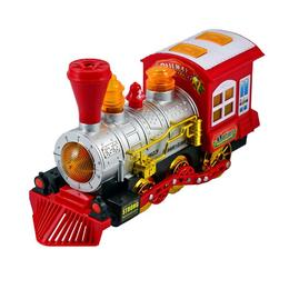 Locomotiva care merge, face baloane, cu sunete si lumini - Muzi LTD