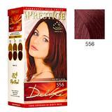 Vopsea pentru Par Rosa Impex Prestige Deluxe, nuanta 556 Fiery Lava