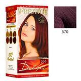 Vopsea pentru Par Rosa Impex Prestige Deluxe, nuanta 570 Morello Splendour