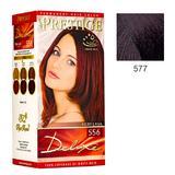 Vopsea pentru Par Rosa Impex Prestige Deluxe, nuanta 577 Aubergine