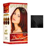 Vopsea pentru Par Rosa Impex Prestige Deluxe, nuanta 590 Black Tulip