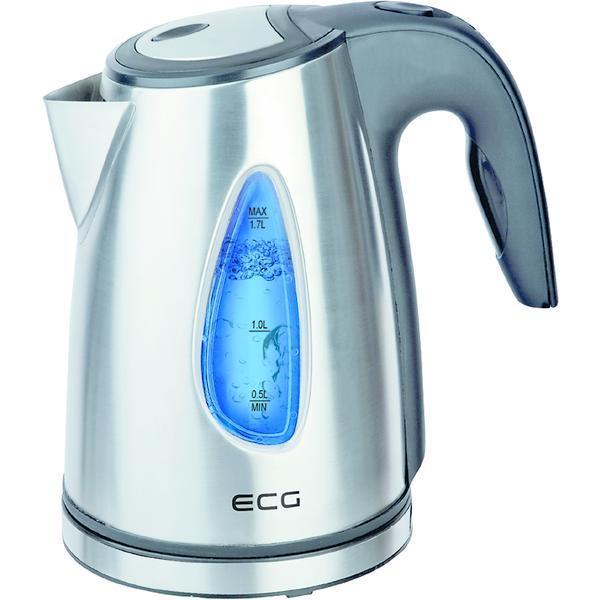Cana electrica fierbator ECG RK 1740, 2000 W, 1,7 L, otel inoxidabil