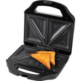 Sandwich maker ECG S 3170, 700 W, 4 sandwich-uri triunghiulare