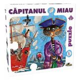 Puzzle 54 piese Capitanul Miau