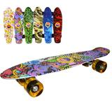 Placa skateboard, roti silicon, led, Grafitti - Robentoys