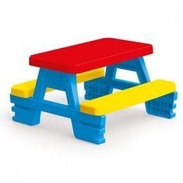 Masa cu bancute, pt.4 copii, 43x77x71cm - Dolu