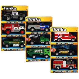 Set 3 minimodele vehicule interventie Tonka