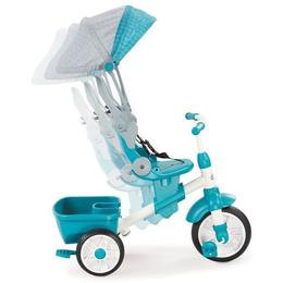 Tricicleta perfect fit 4 in 1 turcoaz - Little Tikes