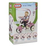 Tricicleta 4 in 1 roz - Little Tikes