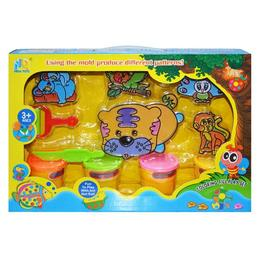 Set Plastilina cu forme in cutie - Robentoys