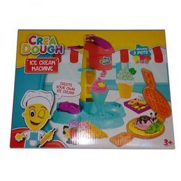 Set plastilina Crea Dough aparat de inghetat/coafor