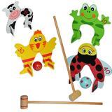 Jucarie de lemn Croquet Game