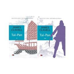 Tai-Pan. Vol.1+2 - James Clavell, editura Litera