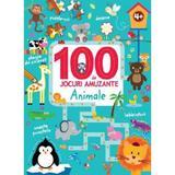 100 de jocuri amuzante - Animale, editura Litera