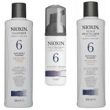 Nioxin - Pachet Medium System 6 pentru parul normal spre aspru, cu tendinta dramatica de subtiere si cadere