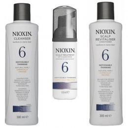 Nioxin – Pachet Medium System 6 pentru parul normal spre aspru, cu tendinta dramatica de subtiere si cadere de la esteto.ro
