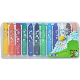 Creioane cerate lavabile Jumbo Set 12 - Nebo