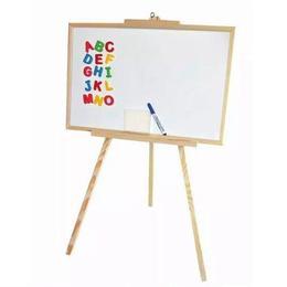 Whiteboard magnetic, 3:1, rama lemn, 60x98x6 cm - Tupiko