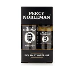 Pachet Promo – Percy Nobleman Beard Starter Kit (ulei barba 10ml + sampon 30ml ) de la esteto.ro