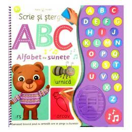 Scrie si strege. abc alfabet cu sunete