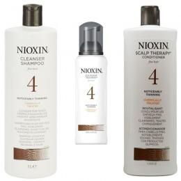 Nioxin - Pachet Maxi System 4 pentru parul cu tendinta notabila de subtiere, fin si vopsit