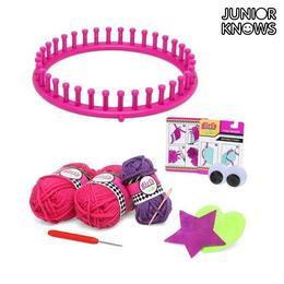 Joc de tricotat cu accesorii