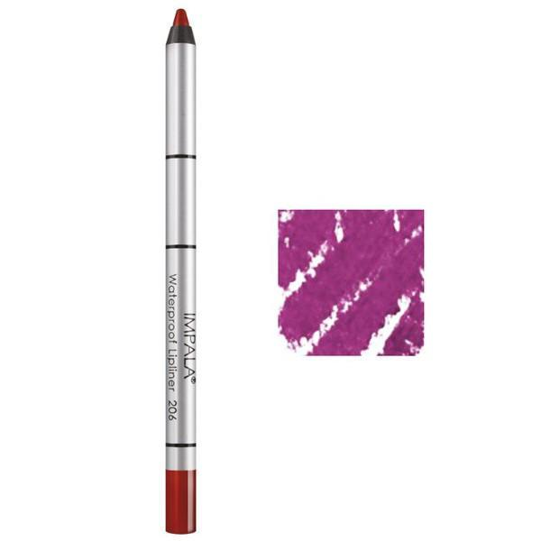 Creion Contur Buze Rezistent la Apa Impala, nuanta 201 Intense Lilac imagine produs