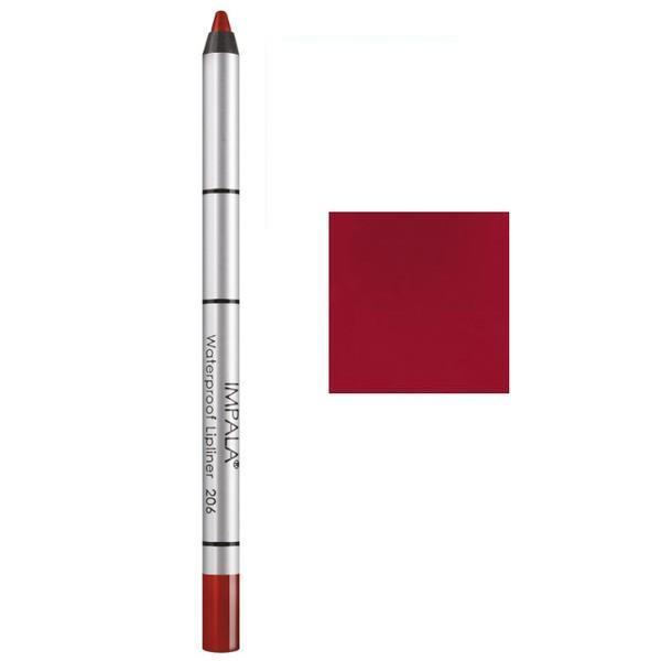 Creion Contur Buze Rezistent la Apa Impala, nuanta 204 Radiant Raisin imagine produs
