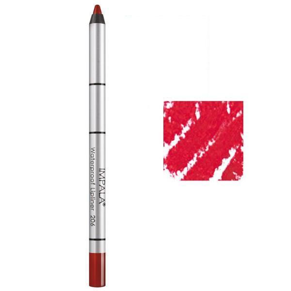 Creion Contur Buze Rezistent la Apa Impala, nuanta 210 Vibrant Coral imagine produs