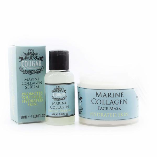 Pachet Promo Marine Collagen Masca si Ser facial ( masca 100ml + ser 30ml )