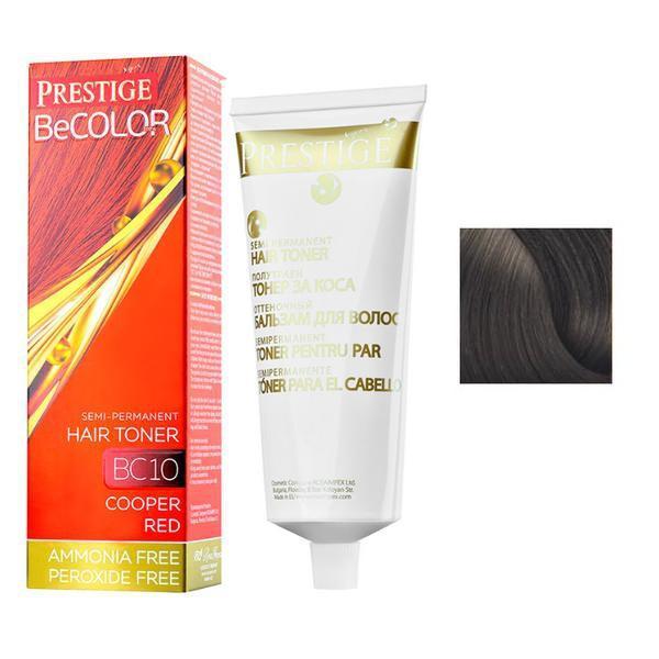 Vopsea de Par Semi-Permanenta Rosa Impex Prestige VIP's BeColor Hair Toner, nuanta BC02 Natural Chocolate, 100ml imagine produs
